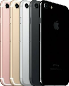 Apple iPhone 7 128GB - Silver Jet Black Rose Gold Red Fully Unlocked | Poor (C)