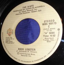 MB732 The B-52's Rock Lobster / 6060-842 45 RPM Record