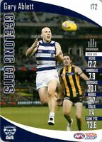 ✺New✺ 2020 GEELONG CATS AFL Card GARY ABLETT Teamcoach