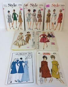Bundle Vintage Sewing Patterns Le Roy Style Simplicity McCalls