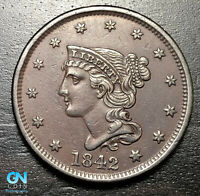 1842 Braided Hair Large Cent --  MAKE US AN OFFER!  #B5999