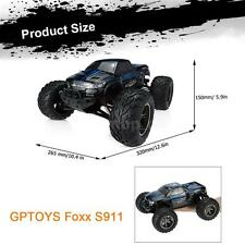 Original GPTOYS Foxx S911 Monster Truck 1/12 RWD High Speed Off-Road RC Car T6F7