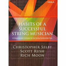 """""""HABITS OF A SUCCESSFUL STRING MUSICIAN"""" FOR VIOLA-METHOD MUSIC BOOK-NEW ON SALE"""
