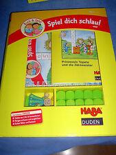 Haba u. Duden-Buch & Spiel-Spiel dich schlau - Prinzessin Tapeta und die Zählmei