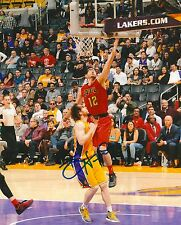 KIRK HINRICH signed ATLANTA HAWKS 8X10 PHOTO COA A