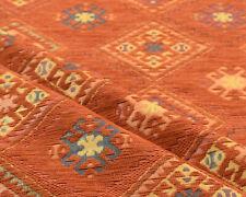 Ethnic fabric upholstery tapestry interior designer boho decor Kilim textile