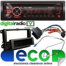 VW T5 2003-10 Sony DAB Bluetooth CD MP3 USB Aux Car Stereo & Fascia Fitting Kit