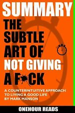 SUMMARY -The Subtle Art of Not Giving a F*ck -Free Shipping-Brand New-Paperback