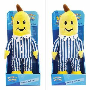 ~❤️~BANANAS IN PYJAMAS B1 and B2 Talking 30cms Plush Soft Toy BNIB set of 2~❤️~