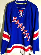 Reebok Authentic NHL Jersey New York Rangers Team Blue sz 52