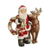 """Goebel Weihnachtsmann mit Rentier """" Treuster Freund """" Limited Edition"""
