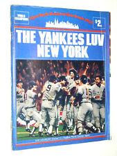 NEW YORK YANKEES YEARBOOK  1979