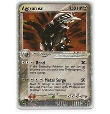 AGGRON EX 95/100 Ultra Rare Star Holo Foil Pokemon Card