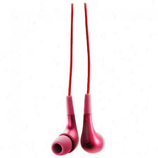 Griffin TuneBuds Earbuds Earphone Headphone TuneBuds for iPod iPhone iPad RED
