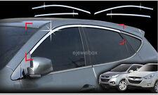 Chrome Window Accent Molding Trim for 11-13 Hyundai Tucson ix35 w/Tracking No.