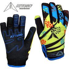 Kinder Mountainbike Handschuhe Gel Fahrrad Warme Fahrradhandschuhe von ATTONO