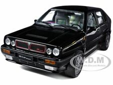 1990 LANCIA DELTA HF INTEGRALE 8V BLACK 1/18 DIECAST CAR MODEL BY SUNSTAR 3151