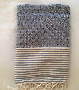Travel Cotton Fouta with fringe