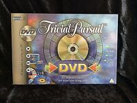 TRIVIAL PURSUIT DVD / TV EDITION OF THE POPULAR QUIZ GAME - PARKER GAMES -