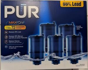 PUR MAXION Faucet Mount MineralClear Replacement Filter 5 Pk - New, Sealed