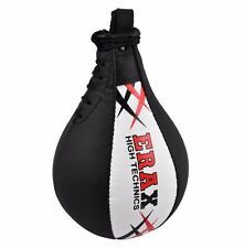 PURE LEATHER SPEED BALL FAST BOXING PUNCHING MMA TRAINING SELLING FAST AU POST