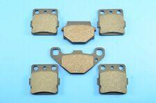 FRONT /& REAR BRAKE PADS Fits SUZUKI LT-F500F LTF500F Vinson 500 4WD 2004-2008