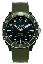 Alpina Seastrong Green Mens Horological Smartwatch AL-282LBGR4V6 RRP £575