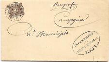 P4753  Reggio Emilia, BAGNOLO in PIANO   ottagonale 1897