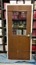 Commercial Fire Rated Interior Door W Glass Metal Frame