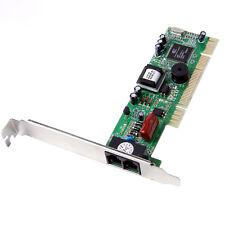 PCI Modem 56K Internal Data/Fax Voice Modem  V.92 V.90 Dial Up Fax