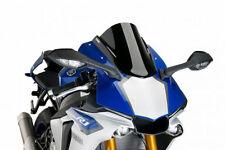 Pièces détachées de carrosserie et cadres noirs Puig pour motocyclette Yamaha