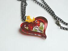 Kingdom Hearts Nobody Red acrylic Necklace