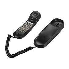 Aibecy Mini Desktop Corded Landline Phone Fixed Telephone Wall Mountable Black