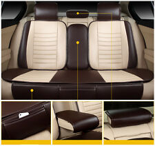 5-Seats Wish Universal Auto Car Seat Cover Mat PU Leather Chair Cushion Protect