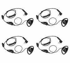 Hkln4599B Motorola Two Way Radio Earpieces Dtr600 Dtr700 Cls1410 Rmm2050 Qty 4