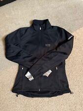 GORE BIKE WEAR Jacket EU 36 (Size SMALL) Black zip zipper WOMEN'S ladies biker