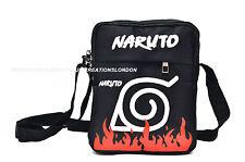 Naruto/Konoha Village Symbol canvas messenger shoulder Bag (NASB1)