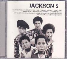 CD ♫ Compact disc «JACKSON 5 (MICHAEL JACKSON) • ICON» nuovo