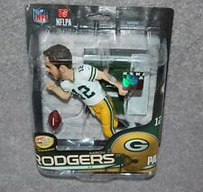 GREEN BAY PACKERS AARON RODGERS #12 NFL SERIES 34  ACTION FIGURES CL 2517/3000