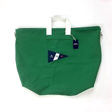NWT Noah NY Men's Kelly Green Canvas Core Logo Holdall Duffle Bag SS17 AUTHENTIC