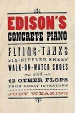 Edison's Concrete Piano: Flying Tanks, Six-Nippled Sheep,-ExLibrary