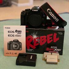 Canon EOS Rebel XSi / 450D (black) body only
