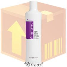No Yellow Shampoo box 12 pcs x 350ml Fanola ® grey, super-lightened decoloured
