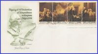 USA #1691-94 U/A ARTMASTER FDC STR4  Declaration of Independence