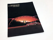 1982 Lincoln Continental Preview Brochure