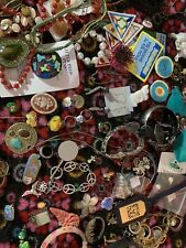Other Items Usable jewelry and damaged Junk Drawer Lot Of Jewelry And