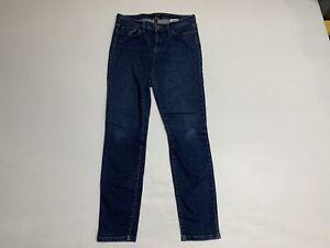 Banana Republic Size 29/8R Skinny Fit Jeans Womens Dark Wash Mid Rise
