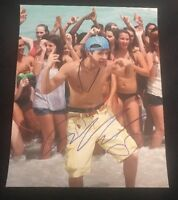 AUSTIN MAHONE SIGNED 8X10 PHOTO SEXY JUSTIN BIEBER W/PROOF+COA RARE WOW