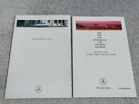 Mercedes-Benz C-Class UK Brochure 1995-1996 C180 C200 C220 C230 C280 C220D C250D