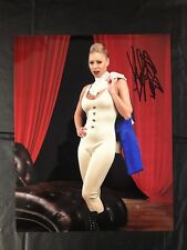 KATIE MORGAN SIGNED PHOTO PORN STAR AUTOGRAPH COA MODEL DANCER I